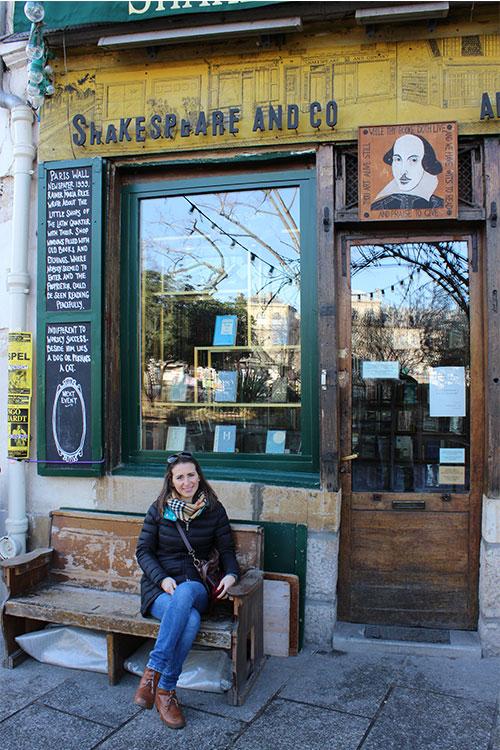 Libreria Shakespeare & Co. Parigi