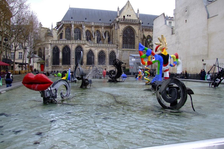 Stravinsky Fountain Parigi