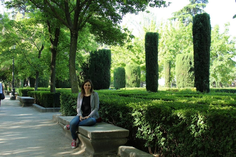 Madrid, Jardines de Sabatini