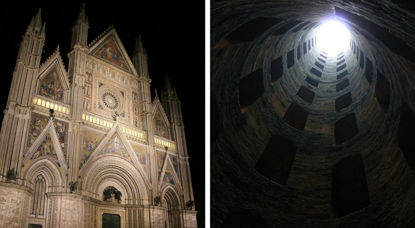 Il Duomo di Orvieto e il Pozzo di San Patrizio