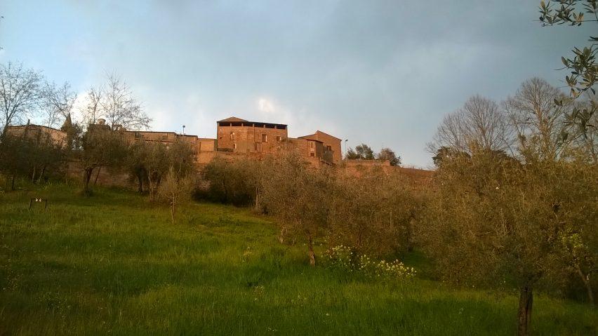 Scorci di Orvieto al tramonto