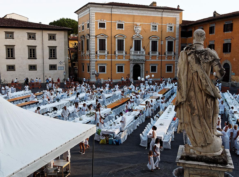 Cena in Bianco Pisa '17