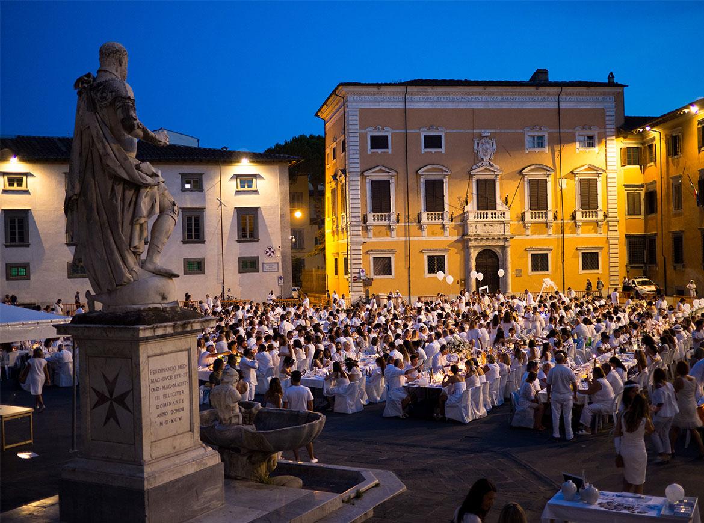 Cena in Bianco Pisa 2017