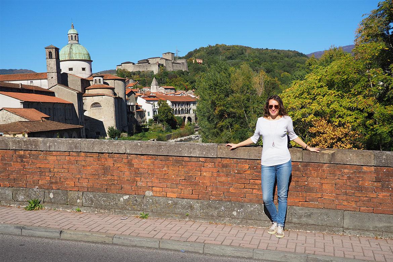 Pontremoli, vista sul Castello del Piagnaro