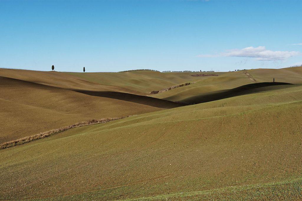 Val d'Orcia, paesaggio Toscano