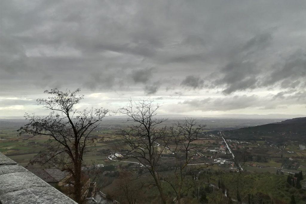 Terrazza panoramica Cortona