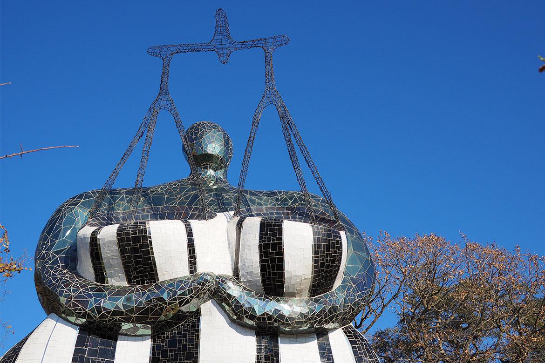 La Giustizia del Giardino dei Tarocchi