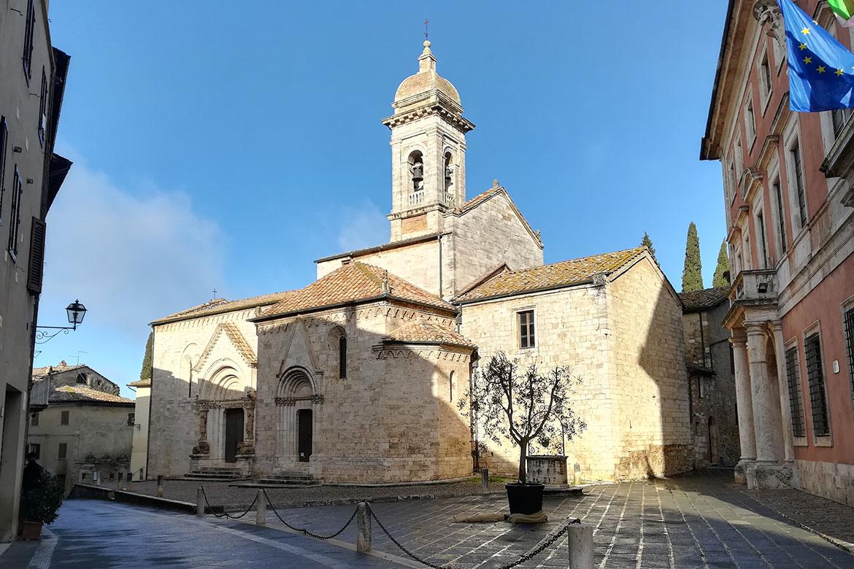 Collegiata dei Santi Quirico e Giulitta a San Quirico