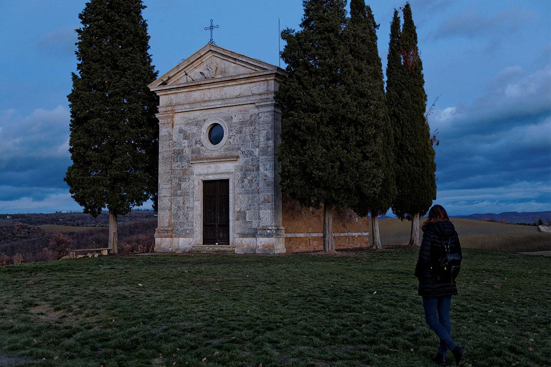 Cappella di Vitaleta, Val d'Orcia
