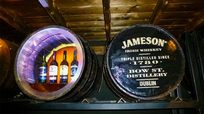 Jameson Distillery Dublino