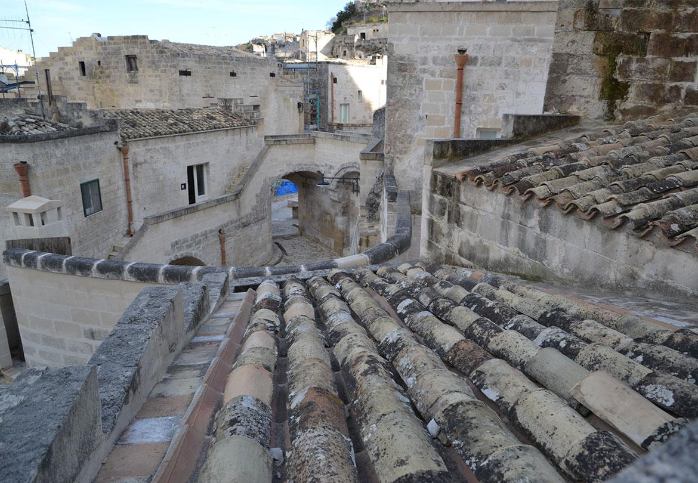 Vicoli e sassi a Matera