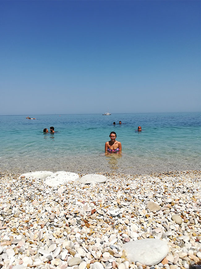 Spiaggia Urbani a Sirolo