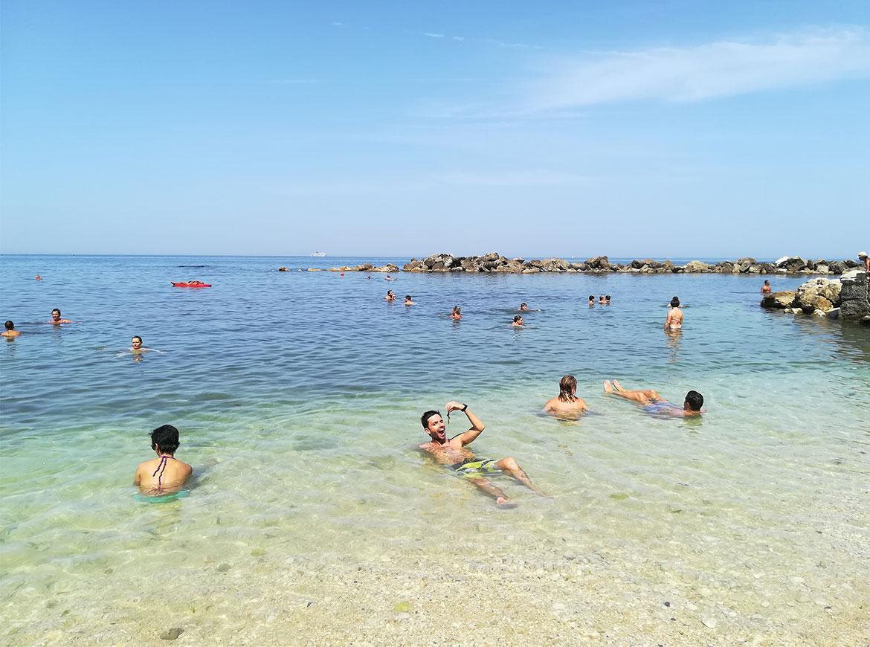 Spiaggia del Passetto ad Ancona