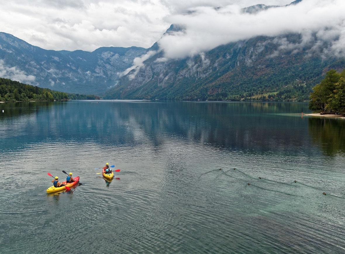 Lago di Bohjni, Slovenia