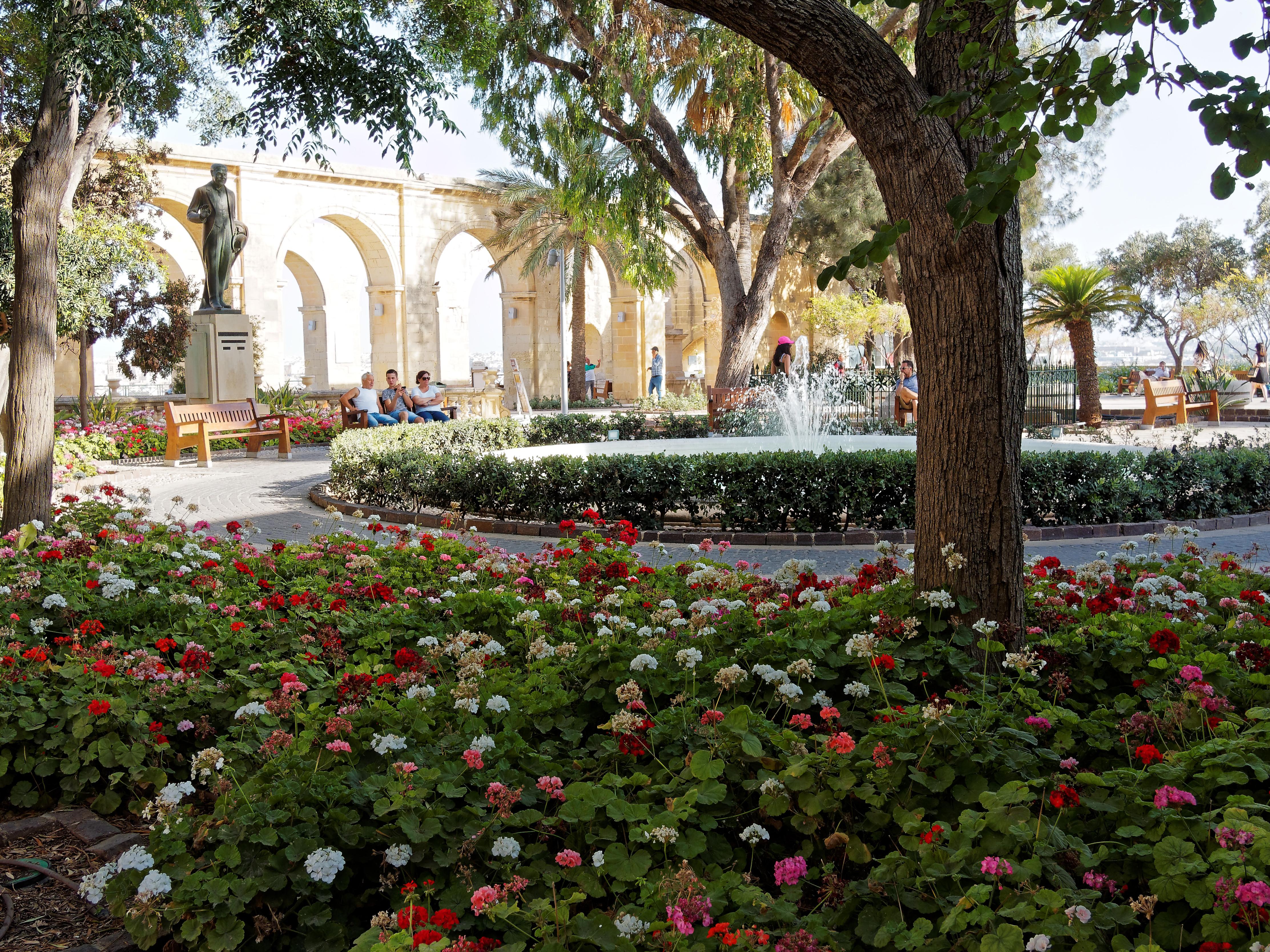 Upper Barakka Gardens Malta