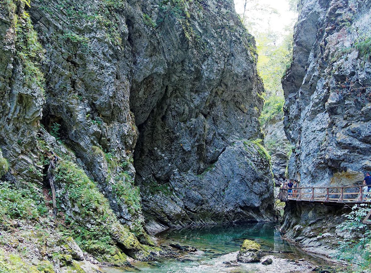 Gola di Vintgar, Slovenia
