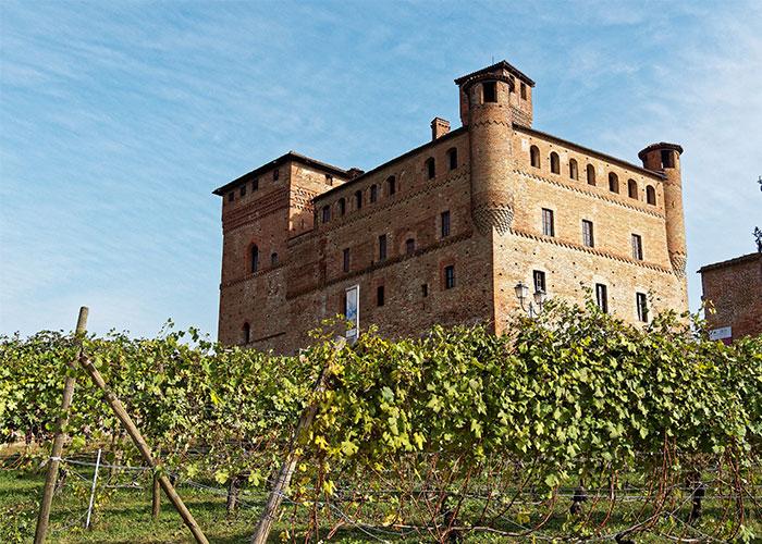 Castello di Grinzane Cavour in Bassa Langa