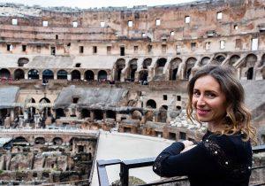 Visita al Colosseo, Roma