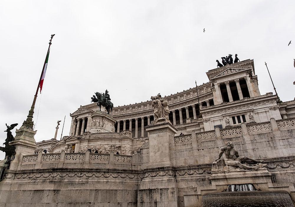 Vittoriano a Roma