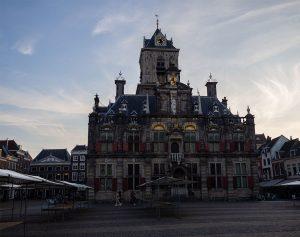 Piazza del mercato di Delft