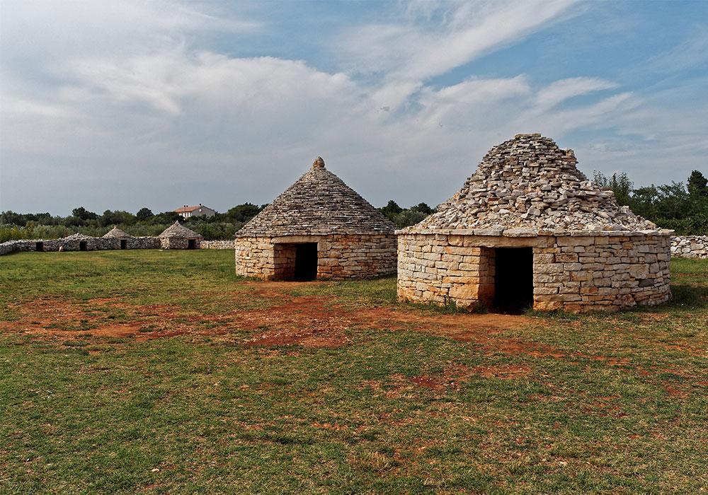 Kažun istriane, abitazioni tipiche di pietra murate a secco