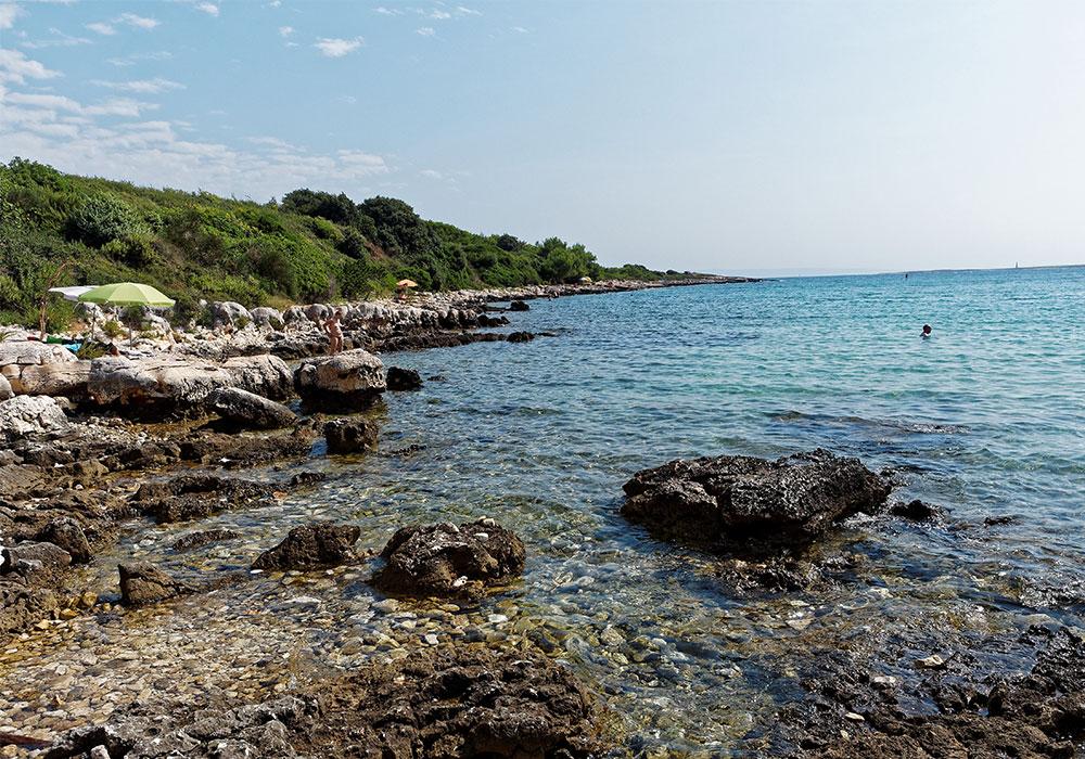 Capo Kamenjak e i 30 km di costa