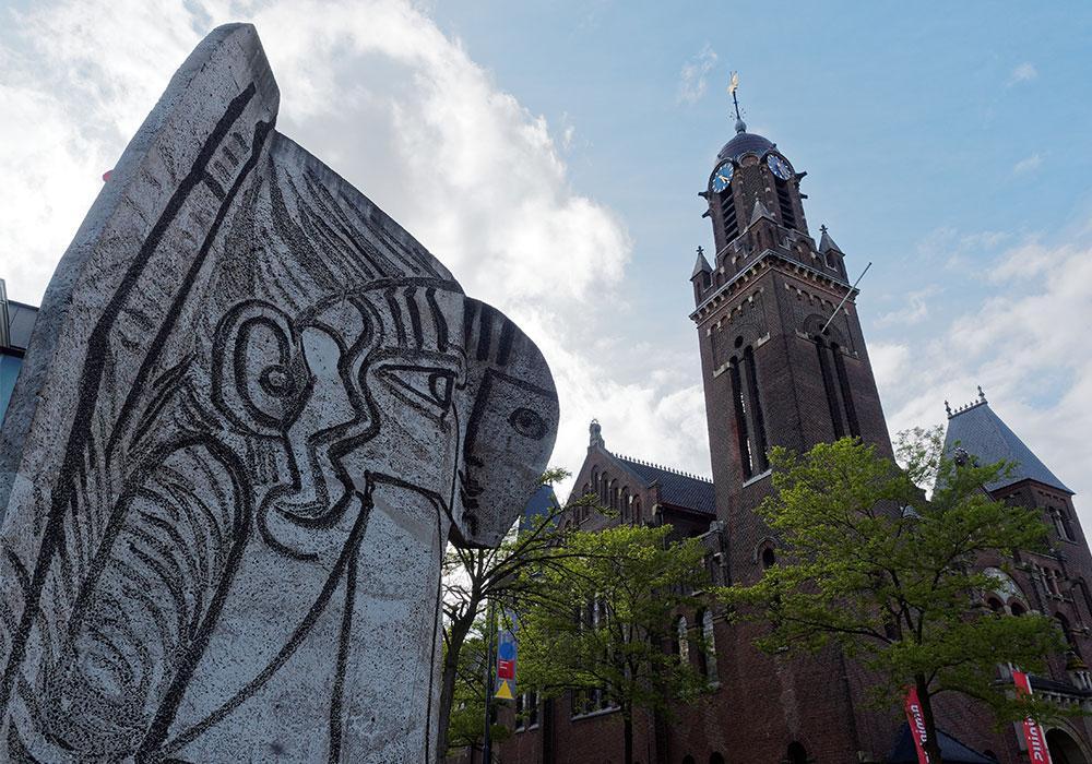 Sylvette, la modella di Picasso nel centro di Rotterdam