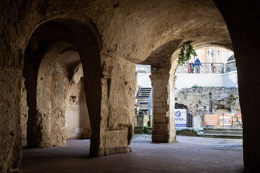 Chiesa rupestre del Santo Spirito a Matera