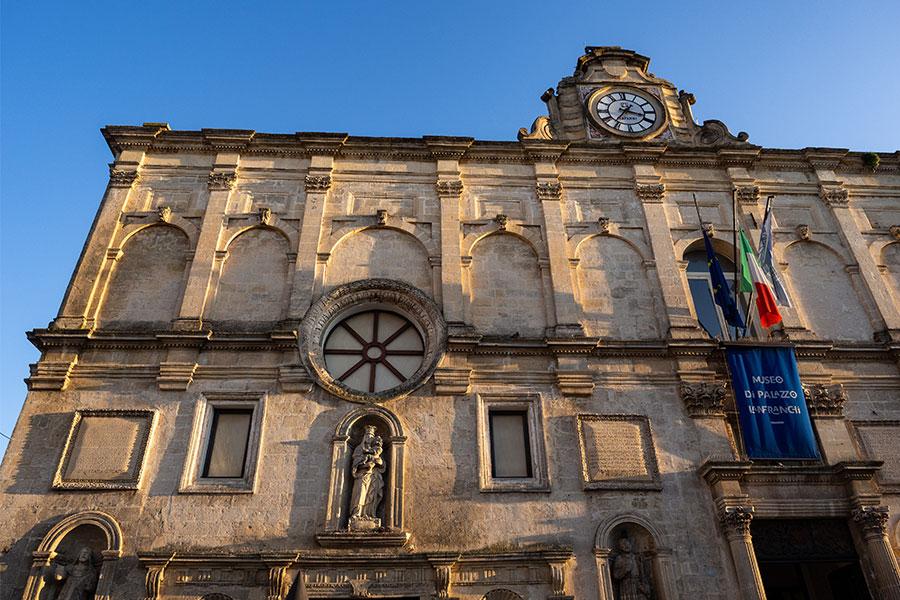 Palazzo Lanfranchi a Matera
