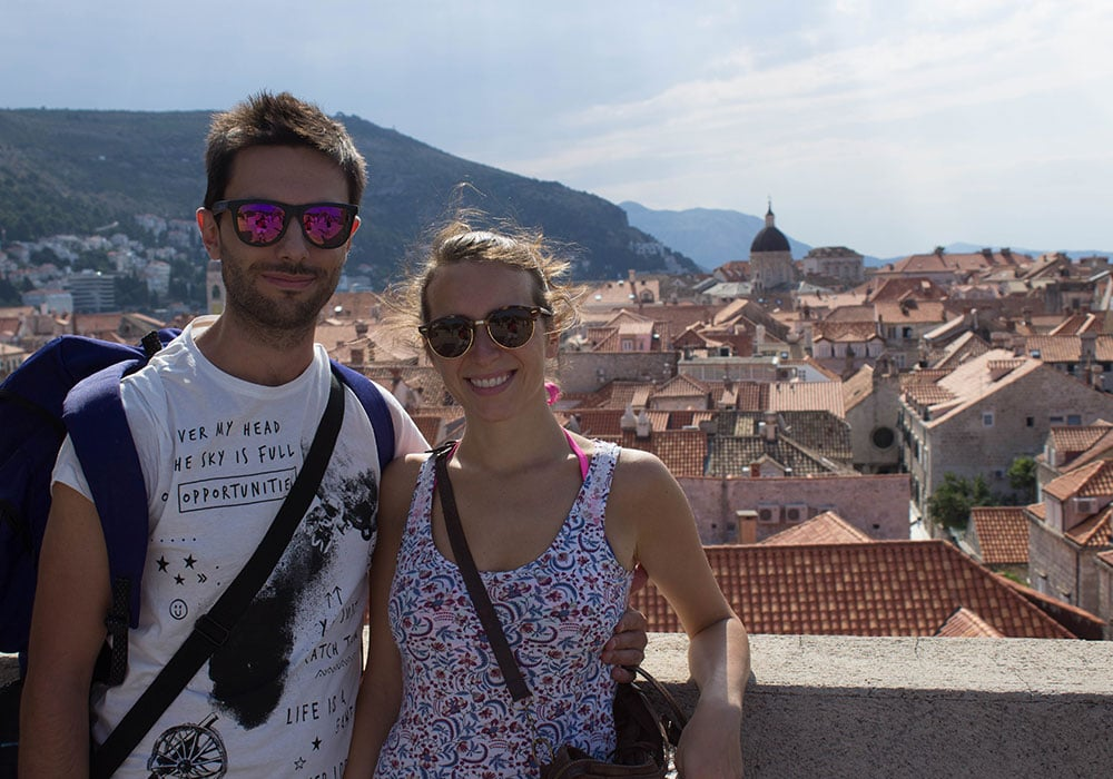 Sulle mura di Dubrovnik